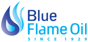 Blue Flame Oil Logo - Heating & Cooling in CT