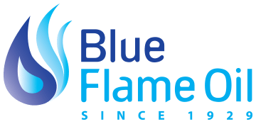 Blue Flame Oil Logo - HVAC Company New Haven, CT