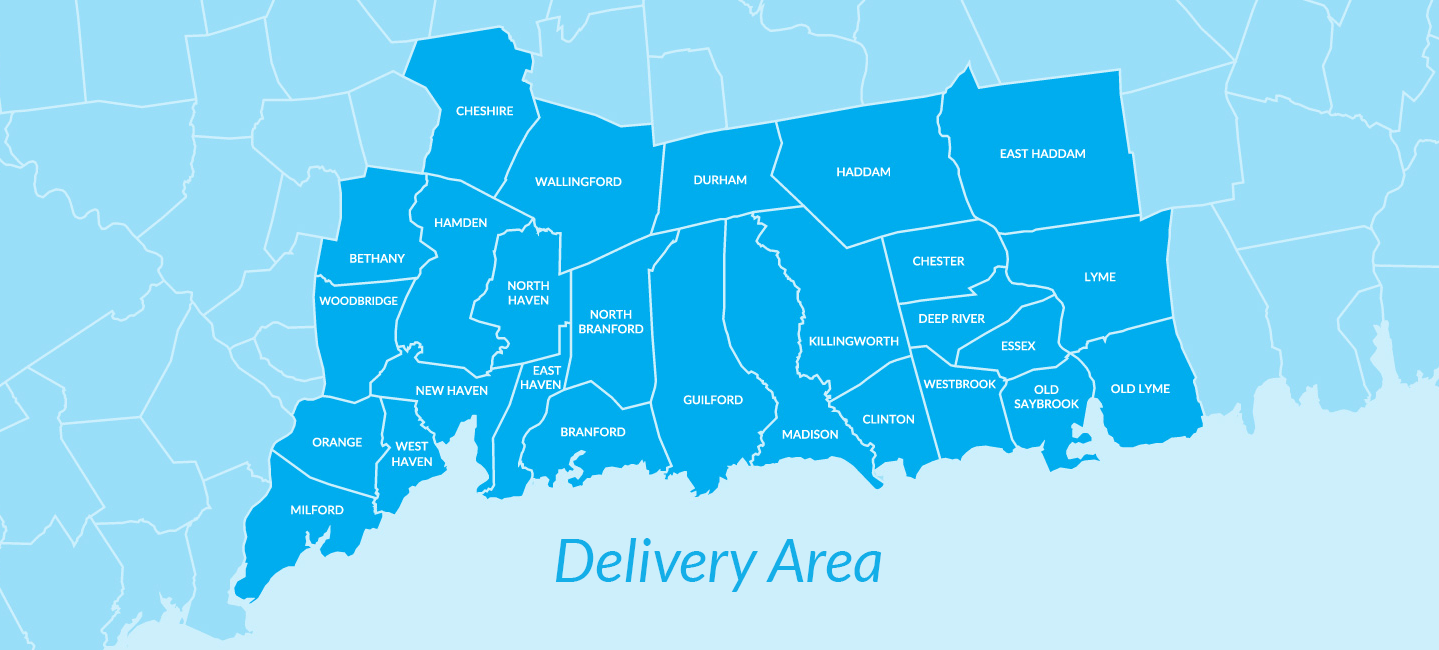 Blue Flame Oil CT - Oil Delivery Service Areas